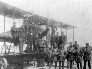 1. Deniz Tayyare Bölüğü personeli