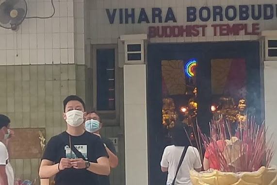 Perayaan Waisak 2021 di Medan Digelar dengan Prokes yang Ketat