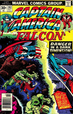 Captain America and the Falcon #202