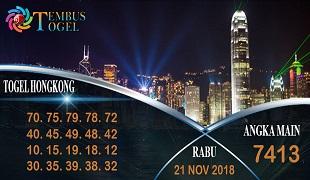 Prediksi Angka Togel Hongkong Rabu 21 November 2018