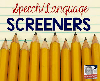 http://twinspeechlanguageandliteracy.com/speech-and-language-screeners-linky-party-freebie/