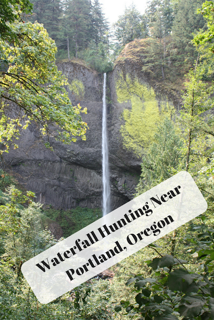 Waterfall Hunting Near Portland, Oregon