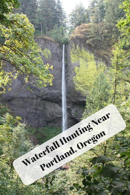 Waterfall Hunting Near Portland, Oregon