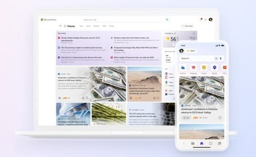 Microsoft launches a dedicated news service Start