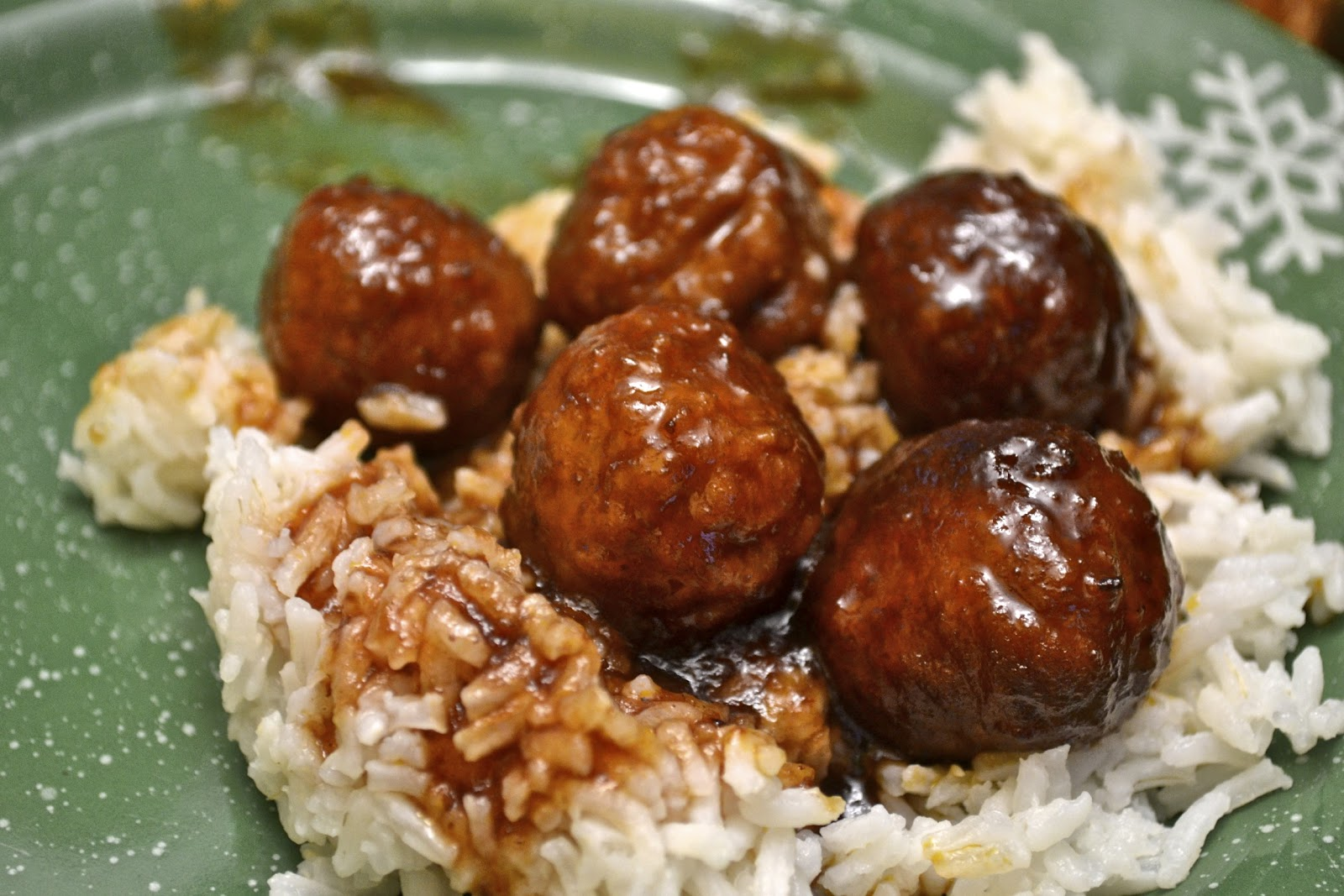 """Point-less"" Meals: Grape Jelly Meatballs"