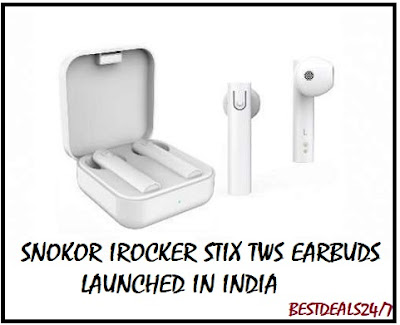 SNOKOR new TWS earbuds launched in India