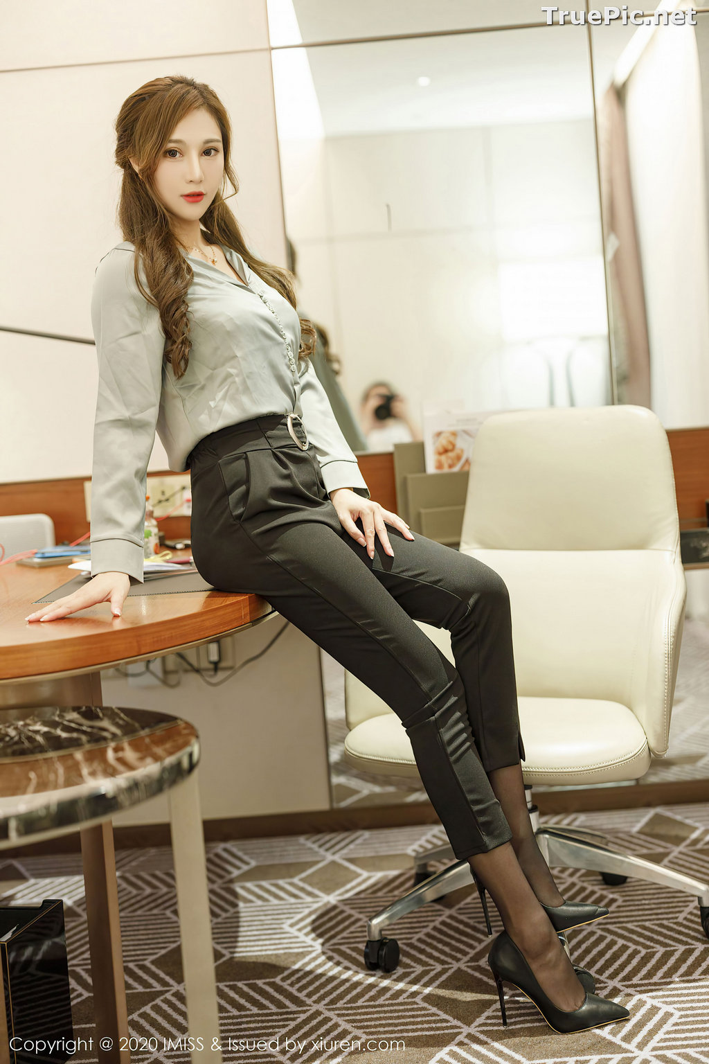 Image IMISS Vol.492 - Chinese Model - Lavinia肉肉 - Long Legs Office Girl - TruePic.net - Picture-7