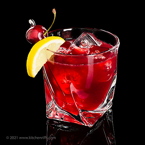 The Cherry Bounce Cocktail