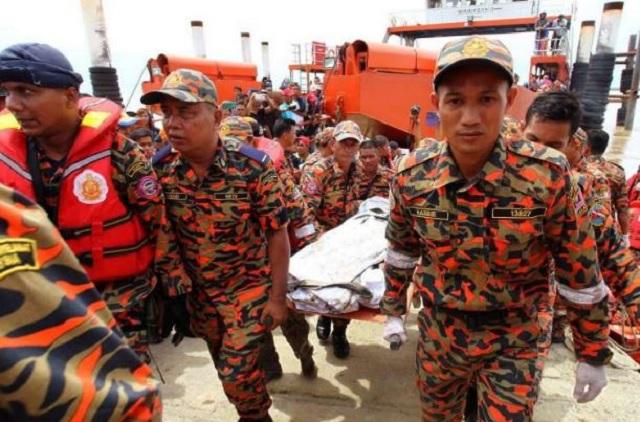 Helikopter Terhempas: Mayat Ketiga Dijumpai Jam 11.45 Pagi Tadi