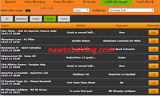 Merrybet Odds Browser