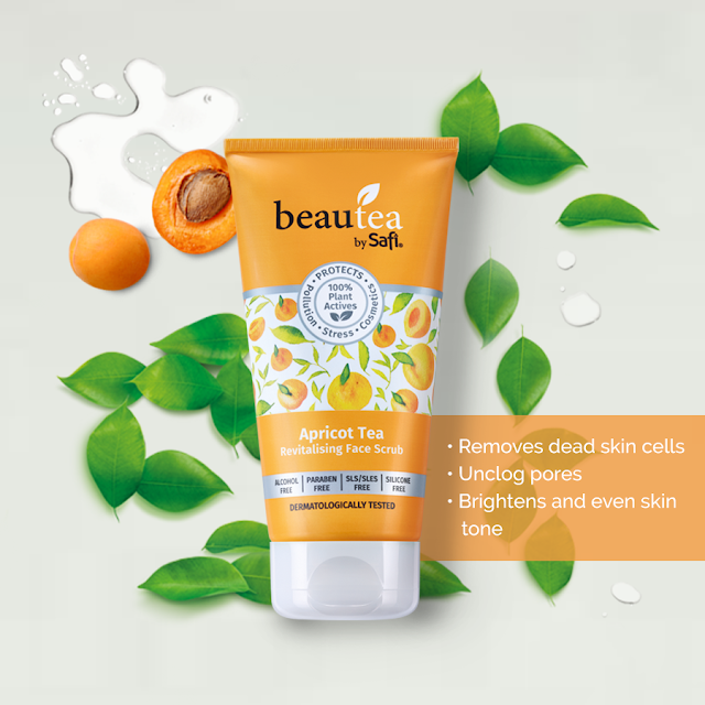 Apricot Tea Revitalising Face Scrub