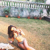 Sakshi Chopra in Bikini Unseen Sizzling Great Grand Daughter of Ramanand Sagar~  Exclusive Celebrities Galleries 015.jpg