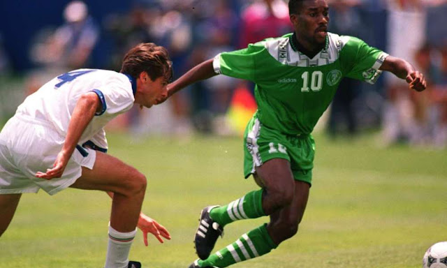 Okocha wins best EPL goal by a Nigerian