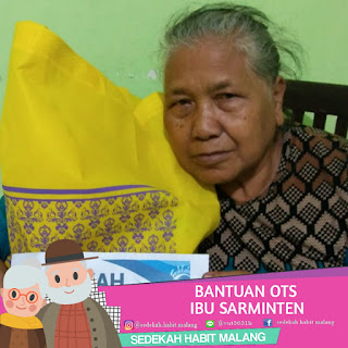 Ibu Sarminten : Bantuan OTS