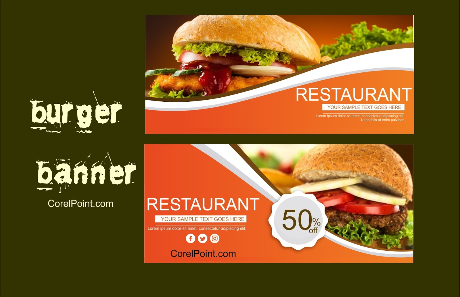 Unduh 540 Background Banner Coreldraw Free Terbaik
