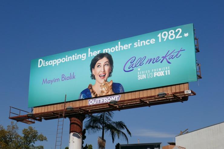 Call Me Kat billboard