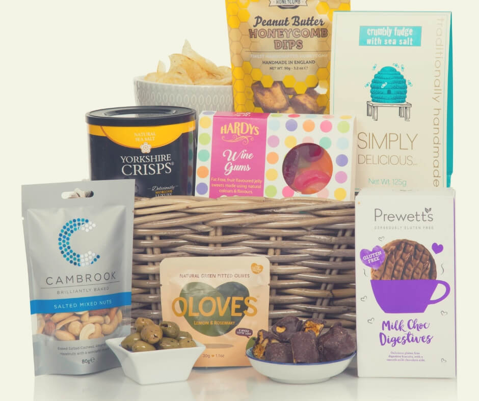 Christmas Gift Ideas For Your Mother In Law | This gluten free hamper is sure to make her smile.