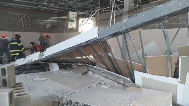 Desabamento de parede mata quatro trabalhadores em obra em hipermercado, em Presidente Prudente