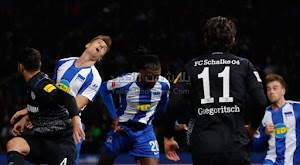التعادل السلبي بدون اهداف يحسم مباراة شالكه وهيرتا برلين في الدوري الالماني