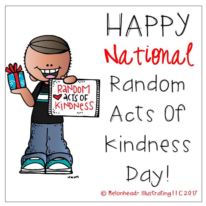Melonheadz Happy National Random Acts Of Kindness Day Clip Art