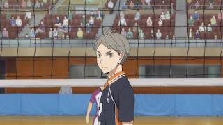 ハイキュー!! アニメ 3期7話 | 菅原孝支 Sugawara Koshi | Karasuno vs Shiratorizawa | HAIKYU!! Season3