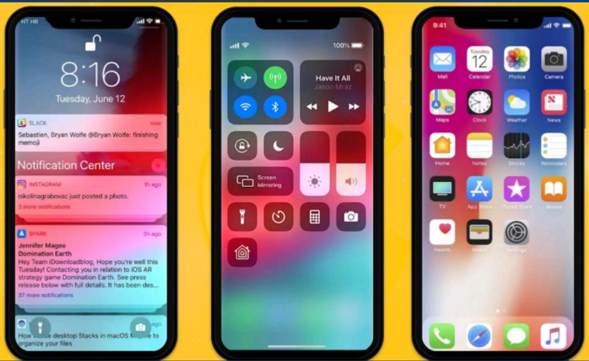 تحويل شكل هاتفك الأندرويد بالكامل الي ios 13
