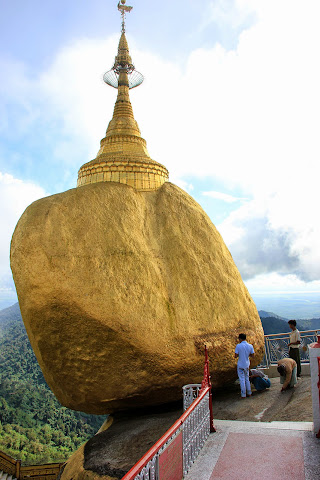 Golden Rock - Burma