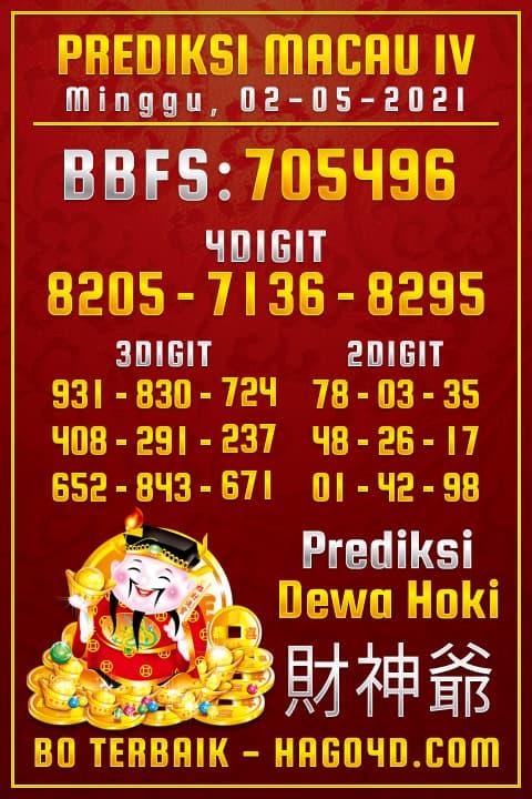 Dewa Hoki - Rumus Togel Toto Macau P4