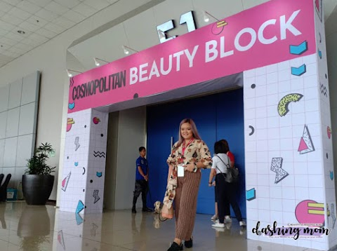 Cosmo Beauty Block 2018 experience | #CosmoBeautyBlock