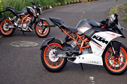Harga KTM Duke 200 dan RC 200 Menjadi 30 Jutaan
