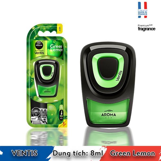 Nước hoa ô tô Aroma Car Ventis 8ml - - Lemon Green