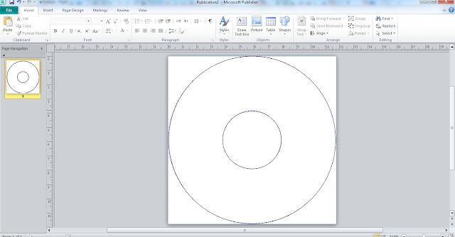 Cara Mudah Membuat Label CD dengan Microsoft Publisher 2010