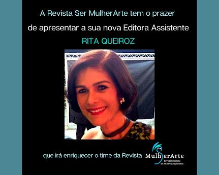 <br>Seja bem-vinda, Rita Queiroz! 🤍