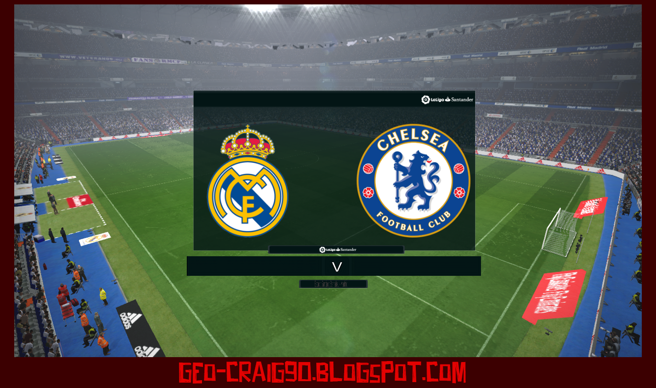 Pes modif pes 2017 laliga scoreboard real madrid tv by for Real madrid tv