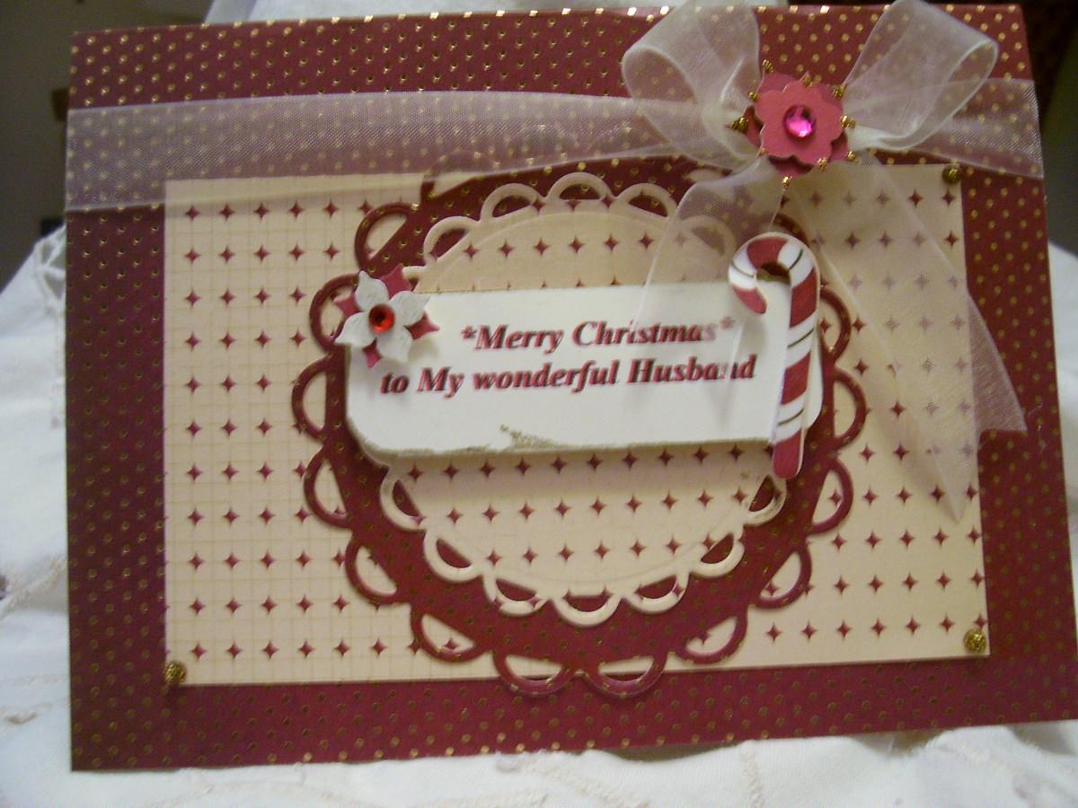 merry christmas to my wonderful husband