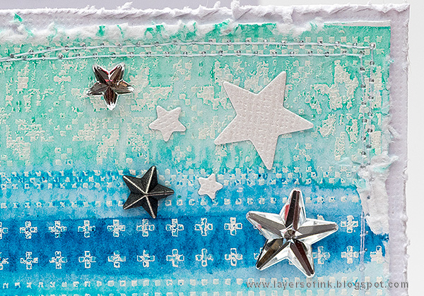 Layers of ink - Winter Panda Card tutorial by Anna-Karin with Simon Says Stamp Stamptember products