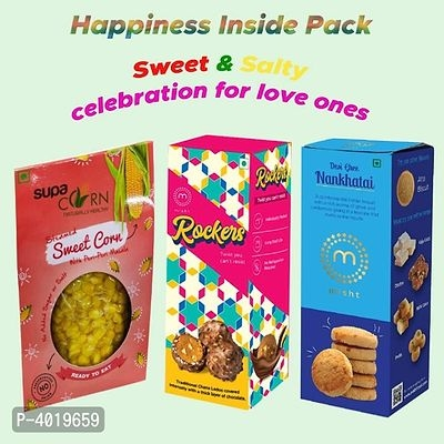 Sweet & Healthy Combo Pack Online Shopping | Best Gift Online | Nankhatai Online Shopping |