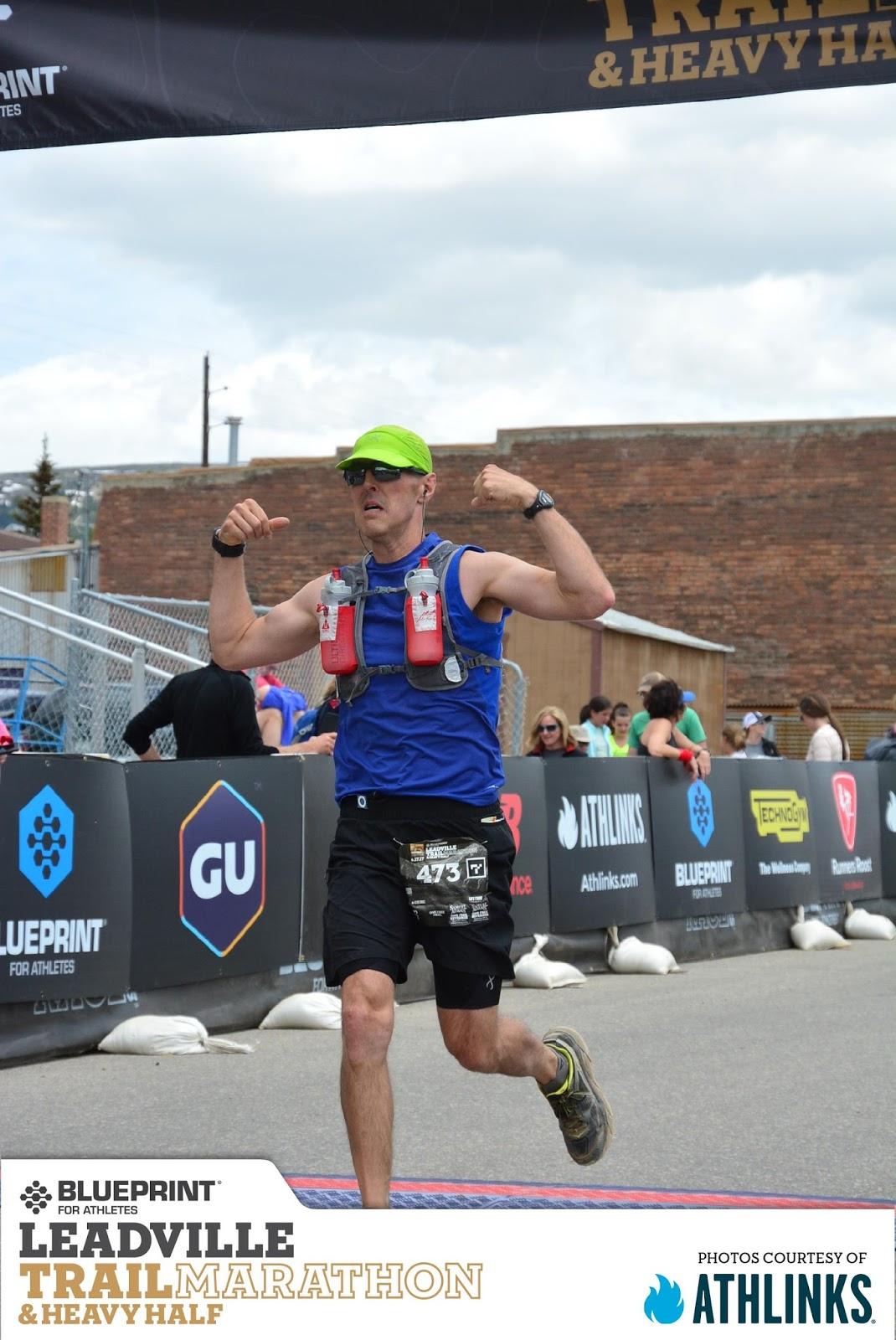 The running man 2017 finishing the leadville trail marathon on saturday malvernweather Images