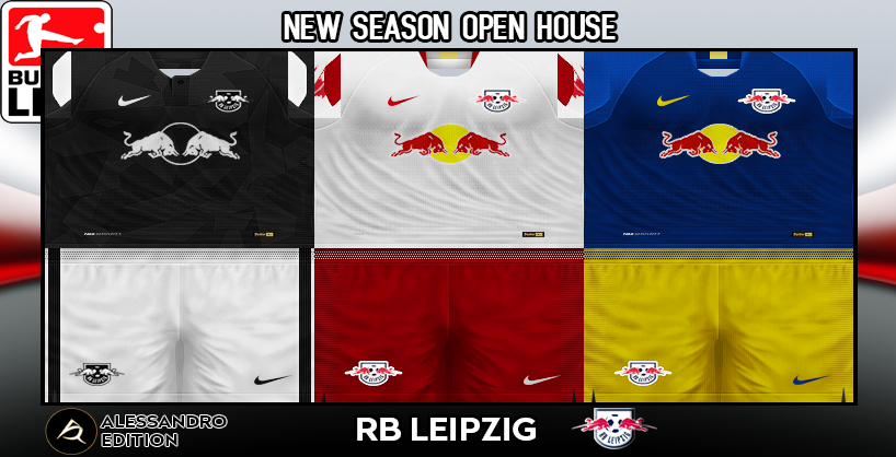 Pes 6 Kits Rb Leipzig Season 2018 2019 By Alessandro Pes 6 Update Free Download Pro Evolution Soccer 6 Mods Patches Updates