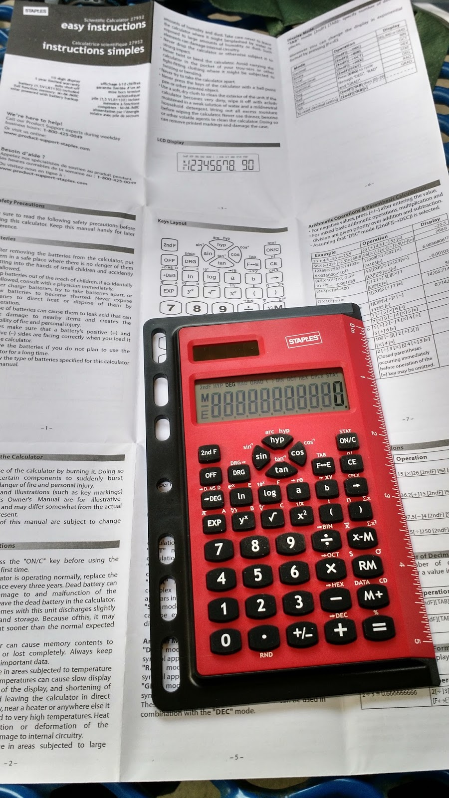 Eddie S Math And Calculator Blog Staples Binder Ruler