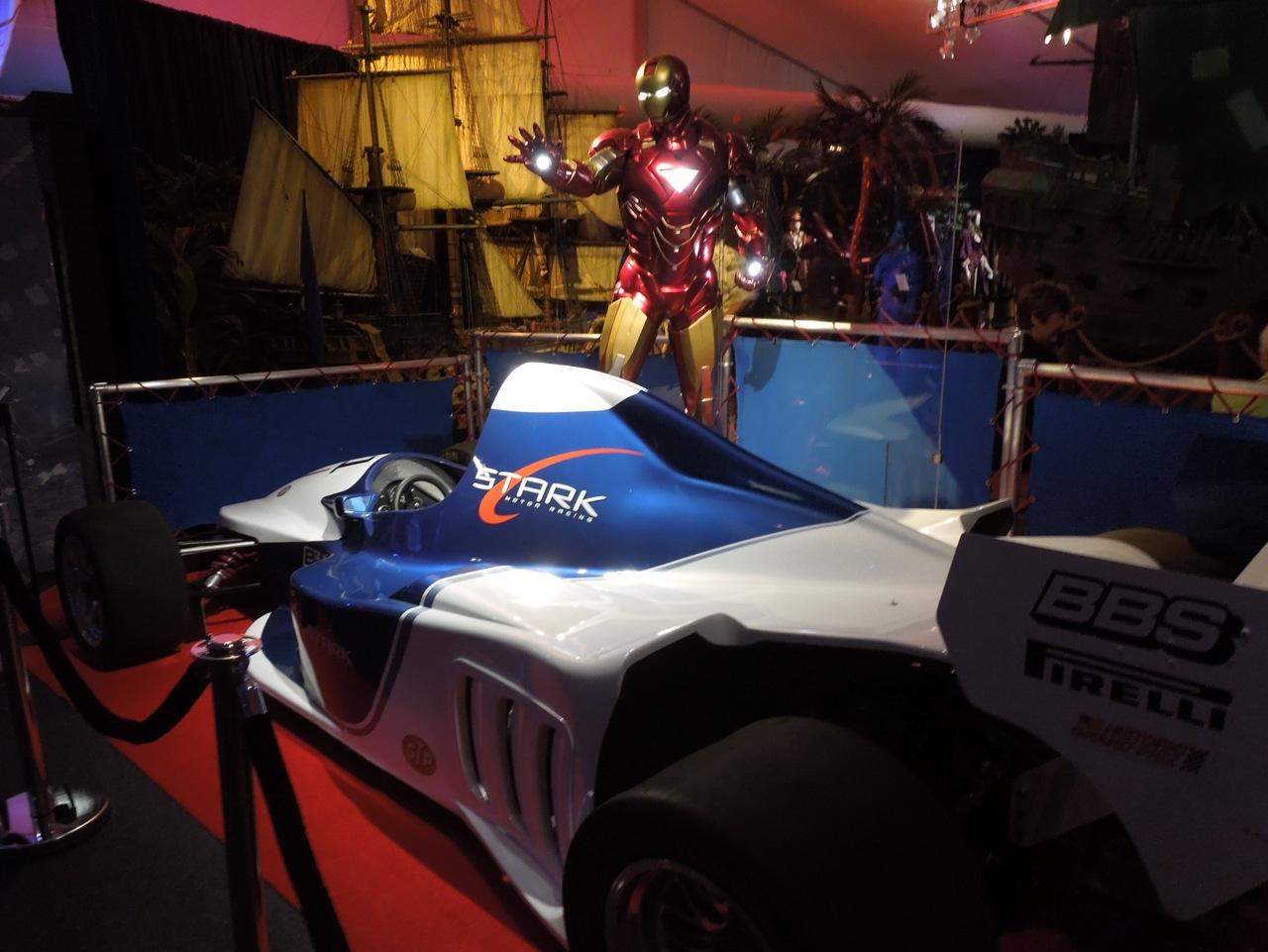 Iron Man 2: Hollywood Movie Costumes And Props: Tony Stark's F1 Race