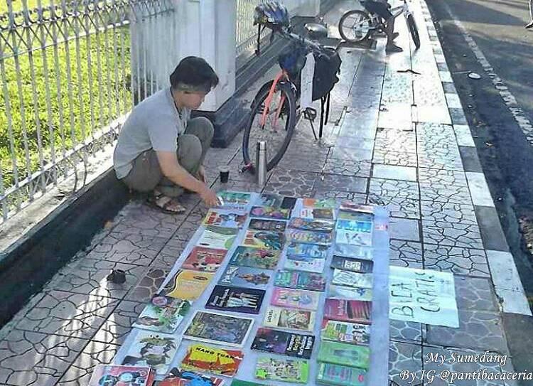 Membaca Gratis Bersama Sapedah Baca