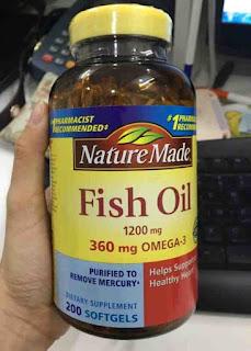 حبوب اوميغا 3 : Nature Made Fish Oil