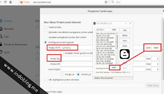 Cara Setting Langsung OCS-PB ke Browser Maupun IDM