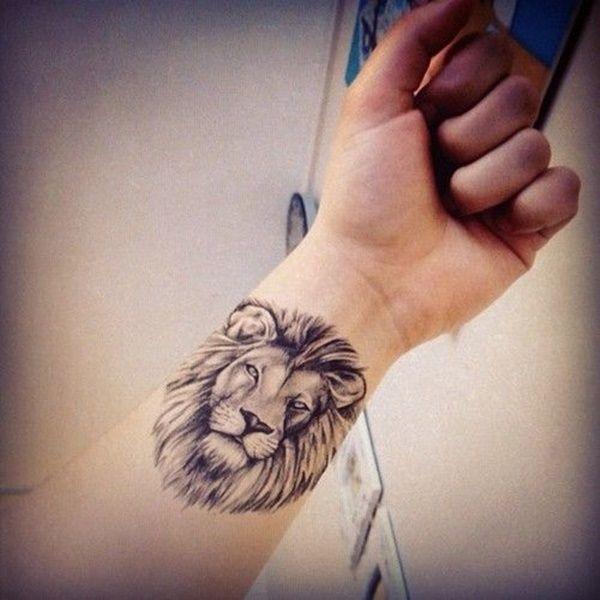 lion-tatouage féminin-5