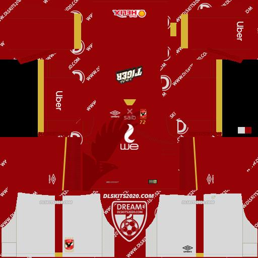 Al Ahly kit 2021-2022 home kit dream league soccer 2019