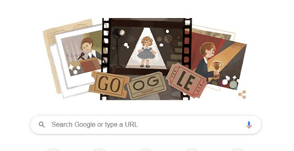 Google Honours Iconic Child Star Shirley Temple with a Doodle