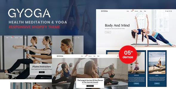 Best Health Meditation And Yoga Shopify Theme