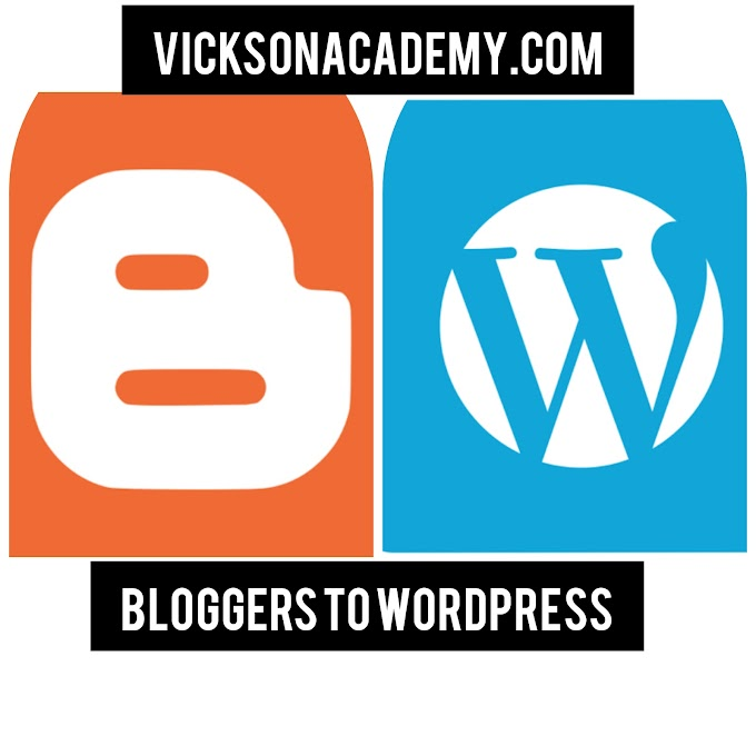 How to Switch from Blogger to WordPress site