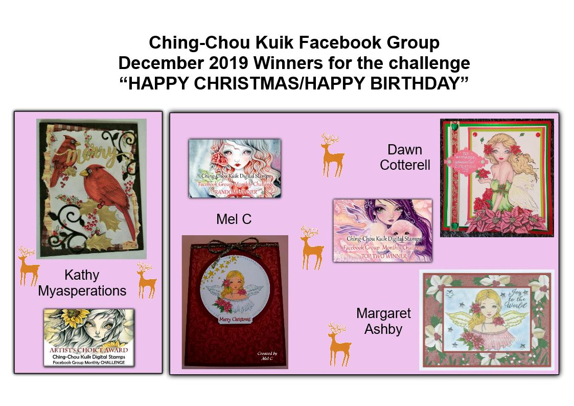 Top 2 Ching-Chou Kuik December Facebook challenge